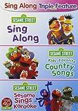 Sesame Street: Sing Along Triple Feature (Sing Along / Kids' Favorite Country Songs / Sesame Sings Karaoke)