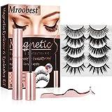 Eyeliner Magnétique, Faux Cils Magnétique, Magnetic Eyeliner Kit de Cils...