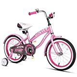 JOYSTAR 14' Kids Cruiser Bike with Training Wheels for Ages 2-6 Years Old Girls & Boys, Toddler Kids Bicycle