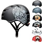 SkullCap Skateboard & BMX Casque de vélo pour Enfants et...