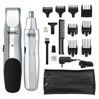 WAHL 5622 Groomsman Rechargeable Beard, Mustache, Hair & Nose Hair Trimmer for Detailing & Grooming,...