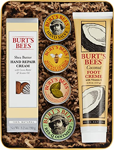 Burt's Bees Classics Gift Set, 6 Products in Giftable Tin...