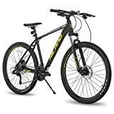 Hiland 27.5 Inch Mountain Bike 27-Speed MTB Bicycle for Man with 18 Inch Frame Suspension Fork Urban...