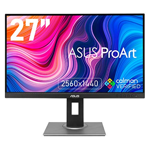ASUS 27インチ クリエイター向けモニターProArt PA278QV (3年間無輝点保証/IPS/WQHD 2560 x 1440/