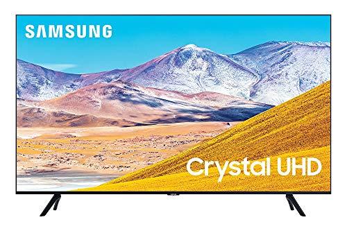 SAMSUNG 50-inch Class Crystal UHD TU-8000 Series - 4K UHD HDR Smart TV with Alexa Built-in (UN50TU8000FXZA, 2020 Model)