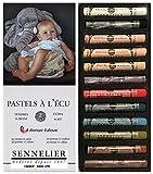 Sennelier ensemble de Pastel secs 12. pastels tendres'à l'écu' Pastel Extra...
