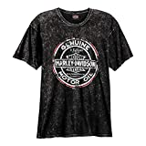 HARLEY-DAVIDSON Grunge Road T-Shirt and Warr's London in Sepia Back (2X-Large)