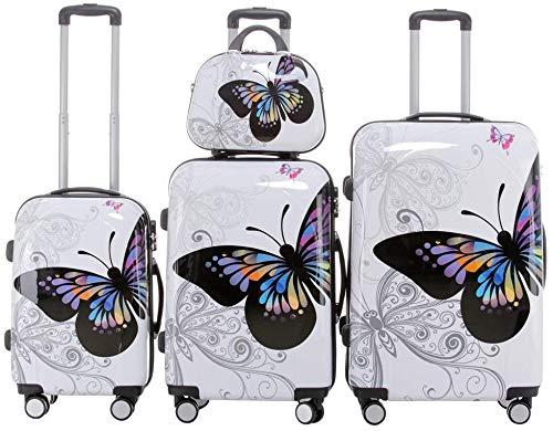 Set di valigie da viaggio 2060, set di trolley rigidi, disponibile in 12 modelli, set di 3 o 4...