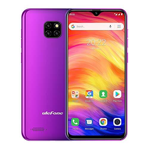 Ulefone Note 7 3G Unlocked Cell Phones 2020, Android 9.0 Unlocked Phones,Triple Card Slots, Face Unlock 6.1'' Display 1GB+16GB 8MP Three Camera, 3500Mah 3G Unlocked Smartphone GPS (Twilight)