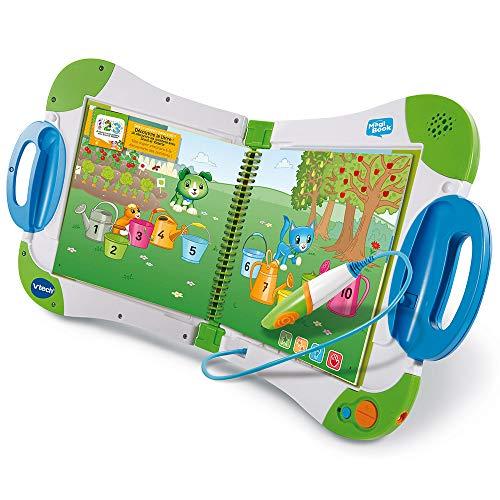 VTech - MagiBook Starter Pack Vert, Livre Interactif enfant – Version FR