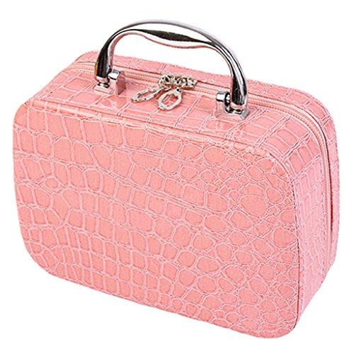 bjduck99 Beauty Makeup Cosmetics Zipper Organizer Box Travel...