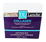 DANIELLE LAROCHE COLLAGEN ADVANCED OVERNIGHT CREAM. Helps improve the look to skin's elasticity and appearance. 1.69 FL OZ