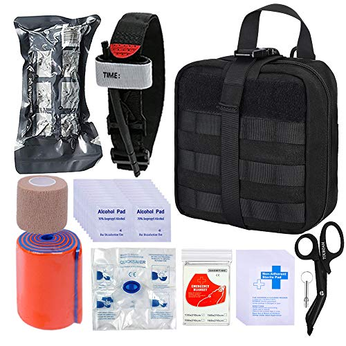 BUSIO Botiquín Primeros Auxilios,Kit Supervivencia Emergencia-Bolsa...
