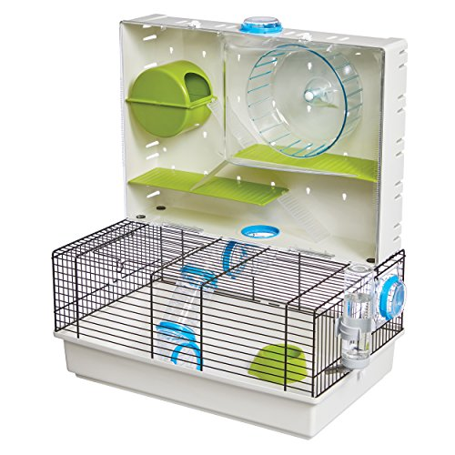 MidWest Homes for Pets Jaula para hámster | Impresionante Arcade hámster Home | 18.11 x 11.61 x 21.26 Pulgadas