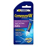Compound W Maximum Strength Fast Acting Gel Wart Remover, 0.25 oz