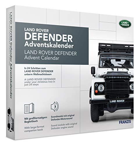 FRANZIS Land Rover Defender Adventskalender | in 24 Schritten zum Land Rover Defender unterm Weihnachtsbaum | Ab 14 Jahren