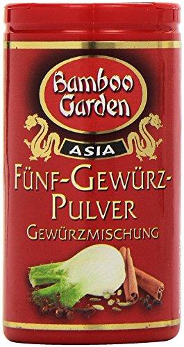 Bamboo Garden Fünf-Gewürz-Pulver, 4er Pack (4 x 35 g)
