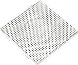 Vaessen creative Panneau Perforé Perles à Repasser, Carré, 14,5 x 14,5 cm,...