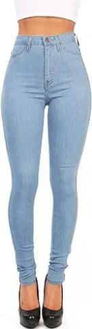 High Waist Boyfriend Jeans von Imily Bela
