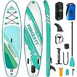 Forceatt Tabla de Paddle Surf Hinchable Sup Inflatable, Stand up Paddle Board de 335×84×15cm para...
