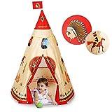Tipi de Jeu, Tente d'Indien,Tente de Jeu pour Enfants Teepee Parc Naturel...