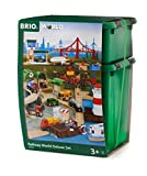 Brio World 33766 Railway World Deluxe Set   Wooden Toy Train Set For Kids Age 3 & Up