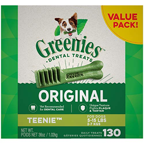 GREENIES Original TEENIE Natural Dog Dental Care...