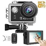 Byroras Caméra Embarquée avec kits d'accessoires Camera 4K/60fps 8K/15fps...