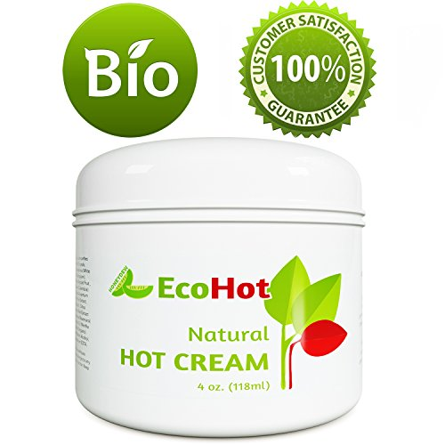 Natural Skin Tightening Cream - Anti Aging Body Treatment for Women + Men - Anti Cellulite Stretchmark + Scar Remover - Muscle Pain Relief - Antioxidant Hot Cream Gel Moisturizer For Dry + Saggy Skin 3