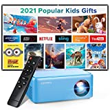 Mini Projector, Portable Projector, XOPPOX Video Projector for Cartoon, kids gifts, Outdoor Movie...
