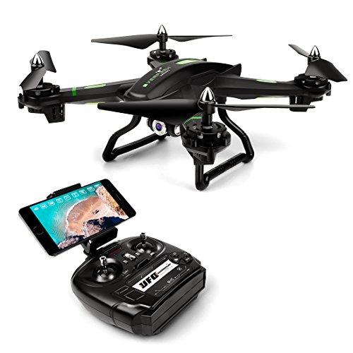 LBLA Drone con Telecamera Live Video HD FPV modalit Headless 2.4GHz 4 CH 6 Axis Gyro RTF RC...