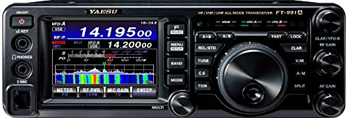 Yaesu Original FT-991A HF/50/140/430 MHz All Mode'Field Gear' Transceiver - 100 Watts (50 Watts on 140/430MHz) - 3 Year Warranty