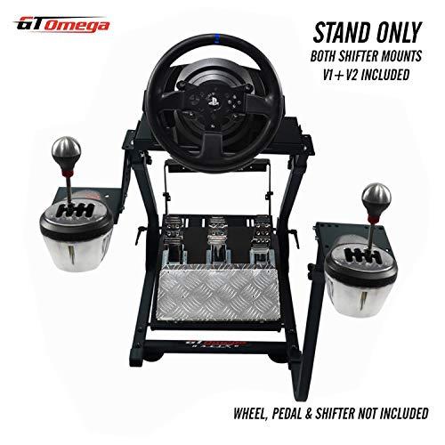 GT Omega PRO Soporte para Volante para Thrustmaster T300 RS Volante y Pedales de Respuesta de la...
