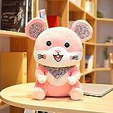 N / A Lindo hámster muñeca de Peluche de Juguete Lindo ratón de Peluche de Juguete Animal de Peluche muñeca de Juguete bebé Comodidad muñeca niño niña cumpleaños 38 cm