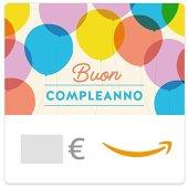 Buono Regalo Amazon.it - Digitale - Palloncini di compleanno