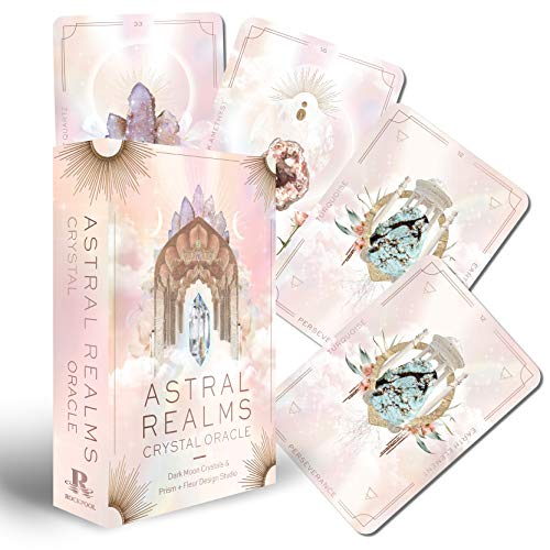 Astral Realms Crystal Oracle: A 33-Card Deck and Guidebook