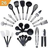 KRONENKRAFT Set d'accessoires de Cuisine de 26 pièces, Set de...