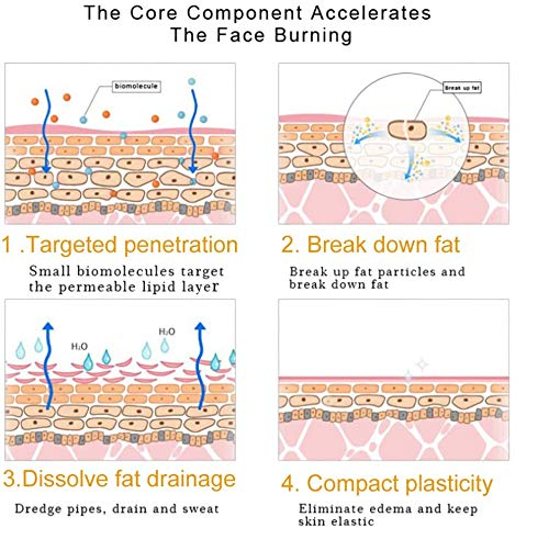 Anti Cellulite Cream,Slim Cream,Hot Cream,Break Down Fat Tissue,Tightens & Moisturizes Skin,Slim Body Cream for Shaping Waist, Abdomen and Buttocks 3