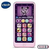 VTech- Telephone EMOTI'FUN Rose Jouets ELECTRONIQUES EDUCATIFS, 80-603755, Multicolore