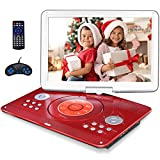 16.9' Portable DVD Player with 14.1' Large Swivel Screen, Kids DVD Player Portable with 6 Hours...
