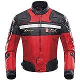 Veste de Moto, Blouson Moto Homme Sport avec Armure pour l'automne Hiver...