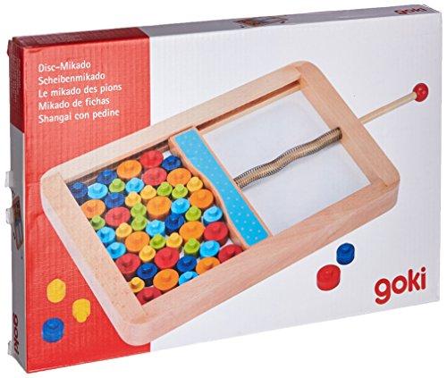 Goki 56679 Disc Mikado Spiel, gemischt
