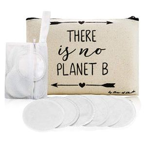 Reusable Makeup Remover Pads -Bamboo Holder, Laundry Bag & Travel Pouch - Washable Organic Cotton Pads for Face - Bamboo… 59