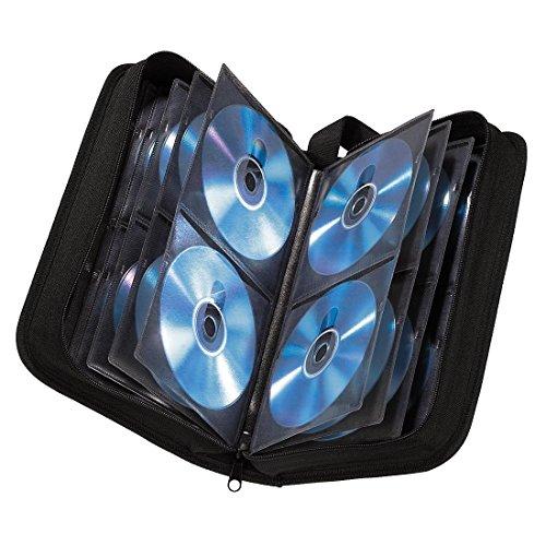 Hama custodia CD per 120 CD / DVD / Blu-ray, nero