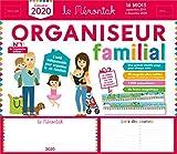 Organiseur familial Mémoniak 2019-2020 - Calendrier sur 16 mois de sept 2019 à...
