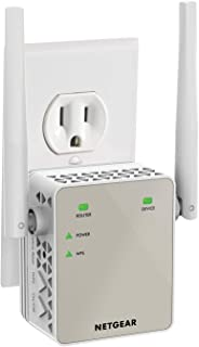 NETGEAR WiFi Range Extender EX6120 – Coverage up to 1200 sq.ft. and 20 devices with..