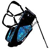 Frogger Golf Hybrid Function Stand Bag, Blue/Black