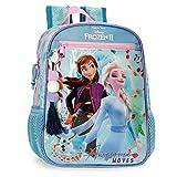 Disney Frozen Awesome Moves Mochila Adaptable,28Cm, Azul