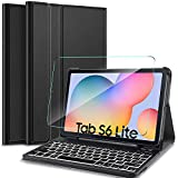 IVSO Samsung Galaxy Tab S6 Lite Clavier avec Protection écran,[AZERTY...