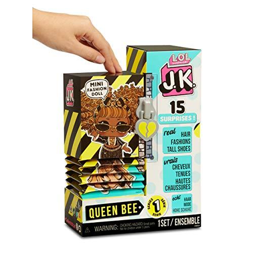 Image 2 - LOL Surprise Mini Poupées Mannequin JK - 15 Surprises, Vêtements et Accessoires - À Collectionner - Queen Bee